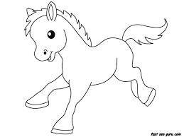 Baby Farm Animal Coloring Pages Printable Free
