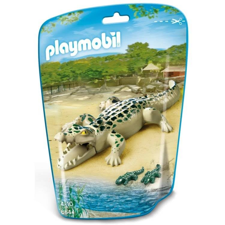 Playmobil Baby Figure Toy - Alligator with Baby