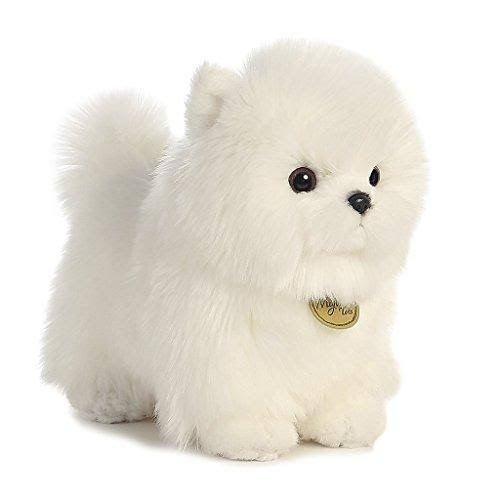 Aurora World Miyoni Pompom Pup Plush - 10""
