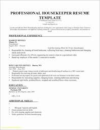 Legalsocialmobilitypartnership Sample Resumes For Housekeepers Hotel Housekeeping Resume Example