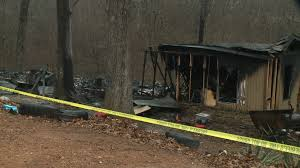 e adult one child dead after Benton County house fire