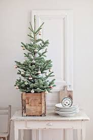 Christmas Tree Ideas For Small Spaces Rustic TreesVintage