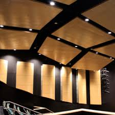 Rulon Wood Grille Ceiling by 2015 Awards Projects Of Note Ceilings U0026 Interior Systems
