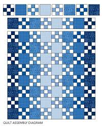 This Single Irish Chain Quilt Showcases A Simple Nine
