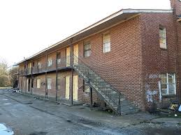 Click To Enlarge This Blighted Apartment Building On Tillman Will Soon Be Demolished