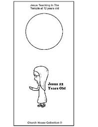 Boy Jesus 12 Years Old Teaching In Temple Doorknob Hanger Craft