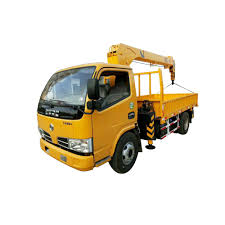 Dongfeng 3 Tons Truck Mounted Crane, View Truck With Crane, DFAC ...