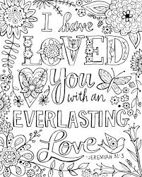 Marvellous Inspiration Adult Bible Coloring Pages Love Verse Image Gallery Collection