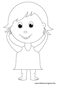Body Coloring Page 15 The Learning Site Pages