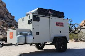The Base Camp Is An Off Road Ready Steel Trailer That Can Be Heavily