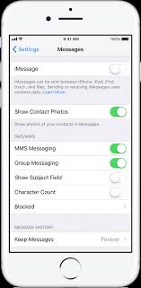 Deregister iMessage on your iPhone or online Apple Support