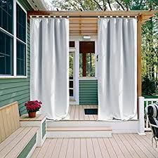 Amazon Outdoor Curtain Panels by Amazon Com Escape Ivory 96 Long Sheer Grommet Top Indoor