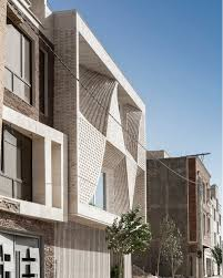 100 So Architecture Travertine Building In Mahallat Iran Is Decorated By Brick