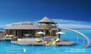 chambre sur pilotis maldives soneva jani le nouvel hôtel de rêve des maldives prévu pour fin