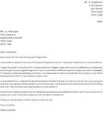 Cover Letter C Programmer Resume Sample Home Design CV Leter