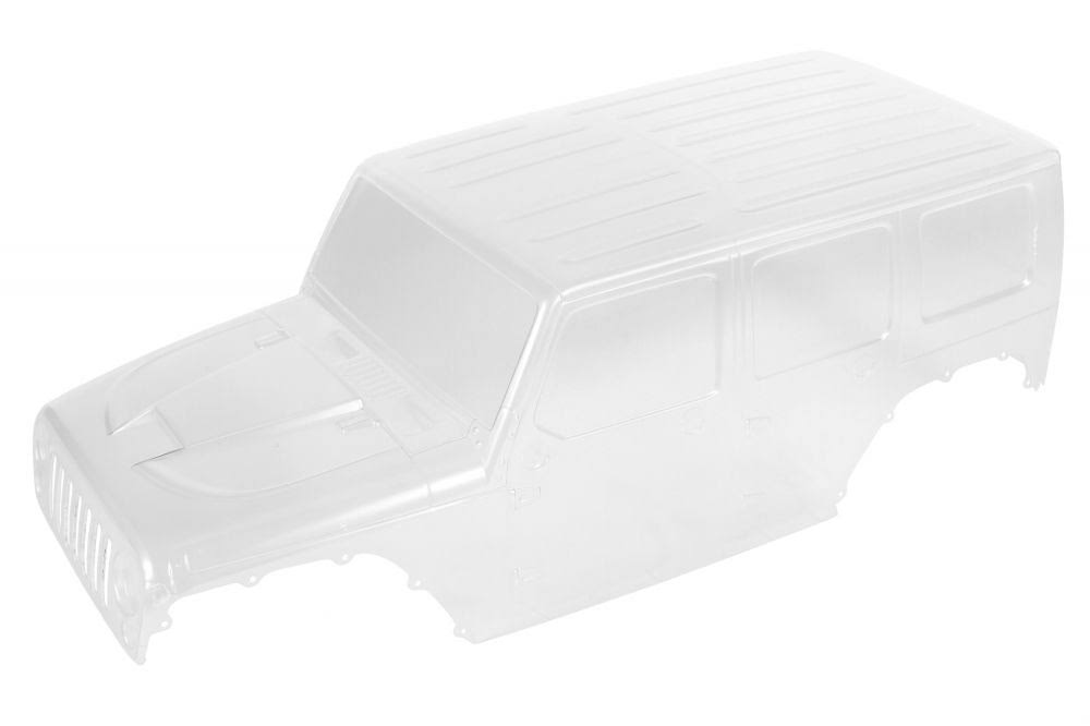 Axial 2017 Jeep Wrangler Rubicon Hardtop RC Parts - Clear Body