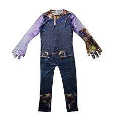 Thanos Cosplay Costumes Boy Thanos Costume For Kids Jumpsuits