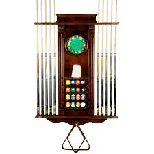 Pool Cue Rack Holder ly 10 Billiard Stick and Ball Wall Rack