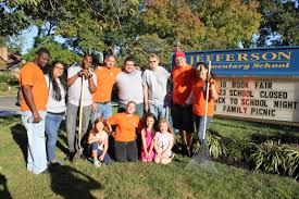 Jefferson Elementary Thanks Garwood Home Depot for Time and