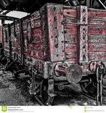 100 Coal Trucks Red Stock Image Image Of Shows Colliery 114314295