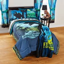 Walmart Bedding Sets Twin by Jurassic World 4 Pc Bedding Set With Comforter Sheets Throw And