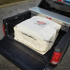 100 Truck Bed Bag Tan Storage Collapsible Khaki Box Great