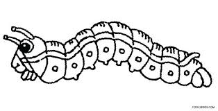 Caterpillar Coloring Page Monarch Butterfly