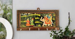 Decorative Key Holder For Wall by 6 Styles Of Rajasthani Key Holder To Beautify Wall Decor