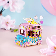100 Ice Cream Truck Music Box Moving Flavor Puzzle At Play Toys