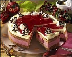 himbeer lebkuchen torte rezept leckere torten kuchen