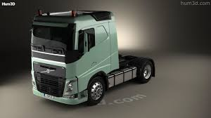 100 Truck Sleeper Cab 360 View Of Volvo FH 420 Tractor 2axle 2012 3D