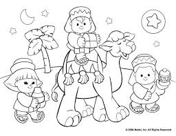 Free Christian Christmas Coloring Sheets Printable With Kwanzaa Pages For KidsFree 10984
