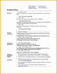Inspiration Resume Examples For Freshers Pdf About Samples Teachers