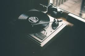 Hipster Indie Music Vinyl Player