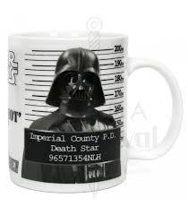 ceramic mug darth vader wars