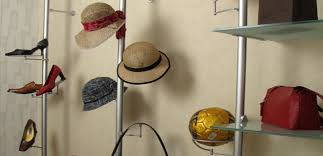 Speciality Rod Displays Hats Purses Sunglasses Retail Clothing Display Systems