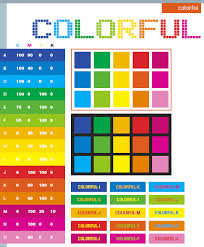 Colorful Color Schemes Combinations Palettes For