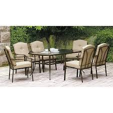 7 Piece Patio Dining Set by Walmart Need 2 For Top Deck Patio 298 Mainstays Brookwood