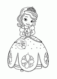Large Size Of Filmprincess Sofia Pictures To Colour Free Printable The First Coloring