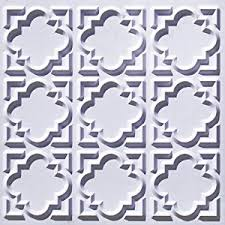 Cheap 2x2 Drop Ceiling Tiles by Amazon Com Ceiling Tile 142 White Matt Glue Up Plastic 2x2 Fire