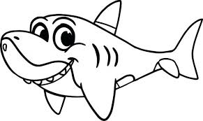 Shark Coloring Pages Printable Tale To Print Page Tiger