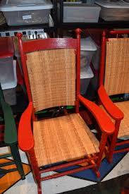 Recaning A Chair Back by Bringing Storied Chairs Back To Life Is Woman U0027s Vocation The