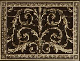 Used Floor Furnace Grates by Decorative Grilles Beaux Arts Classic Products
