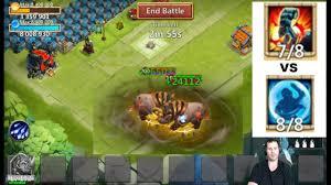 Castle Clash Pumpkin Duke Best Traits by Rockno Vs Rockno Stoneskin Vs Bulwark Crazy Fight Castle Clash