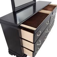 Six Drawer Storage Cabinet by 49 Off Bob U0027s Furniture Bob U0027s Furniture Black Six Drawer Dresser