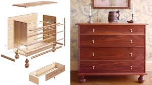 6 Drawer Dresser Plans by Woodworking Projects And Plans Finewoodworking
