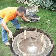 Sevilla Outdoor Concrete Propane Gas Fire Pit