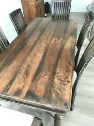 schöne esszimmergarnitur tisch und 6 stühle nussbaum vintage