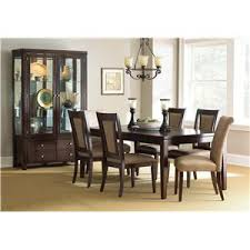 Modern Dining Room Sets With China Cabinet by Steve Silver Wilson Contemporary Dark Brown China Cabinet With