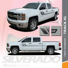100 Truck Door Decals TRACK XL Chevy Silverado Bed Stripes Side 20132018 Premium